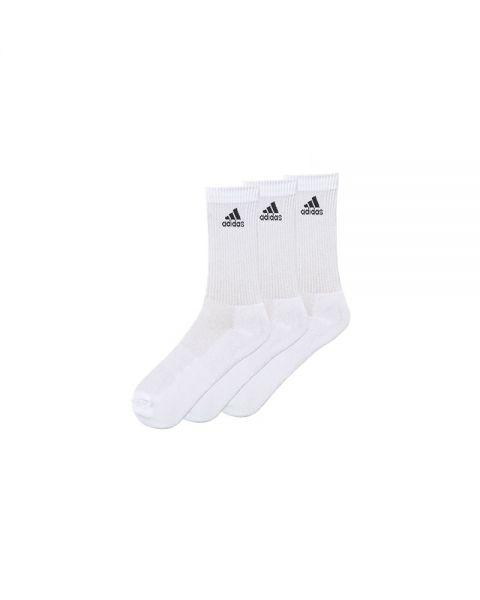 Pila de testimonio pantalla  Calcetines adidas 3s performance crew blanco negro - Calcetines largos
