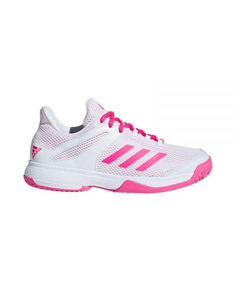 0172310b52e ADIDAS ADIZERO CLUB K WHITE PINK GIRL BB7940
