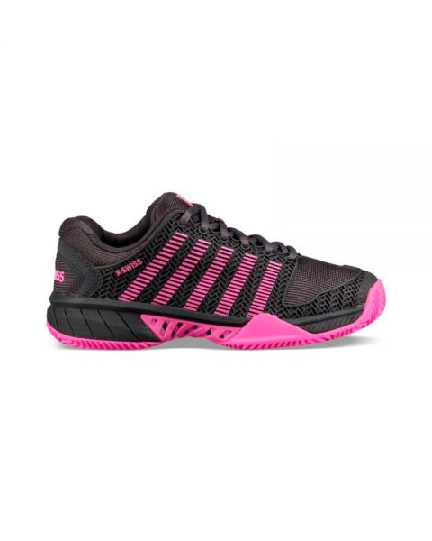 64c618ba K-Swiss Hypercourt Express Hb Negro Rosa Mujer - Confortables y ...