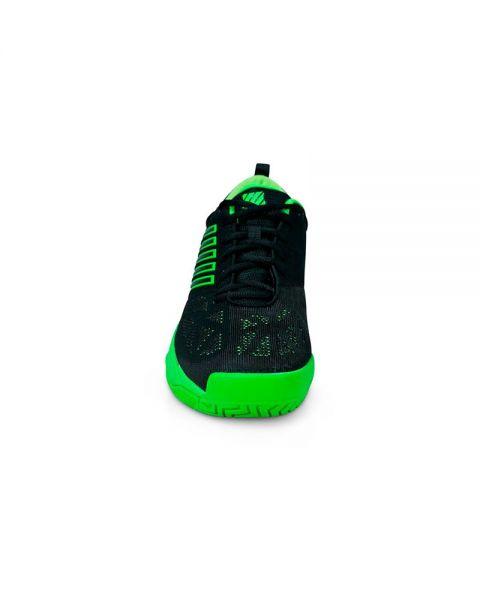 d2987ad3 K-Swiss Knitshot Negro Verde - Diseño y calidad