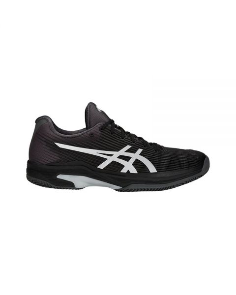 buy popular 30844 a6bbe ASICS SOLUTION SPEED FF CLAY NEGRO PLATA 1041A004 001