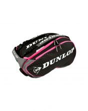 DUNLOP ELITE BLACK PINK PADEL RACKET BAG