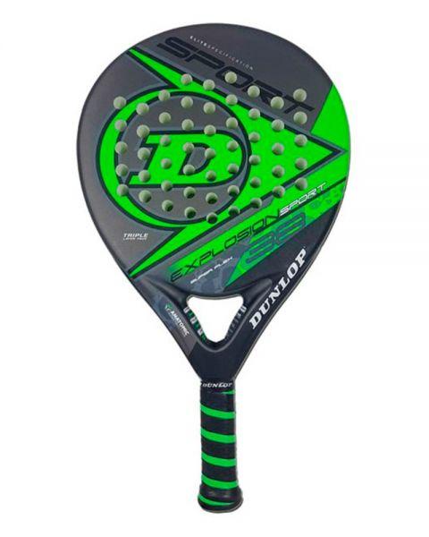 89b3bca1 Dunlop Explosion Sport Verde fluor - Potencia y control