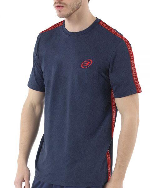 camiseta-bullpadel-iririt-azul-marino, 23.90 EUR @ padelnuestro-es