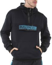 BULLPADEL ORISTANO BLACK SWEATSHIRT