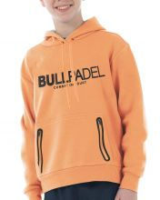 BULLPADEL ORTEX J FLUOR ORANGE JUNIOR SWEATSHIRT