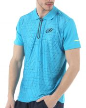 BULLPADEL IRECAI TURQUOISE BLUE POLO SHIRT