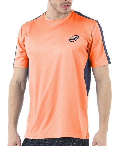 camiseta-bullpadel-iunet-naranja-fluor