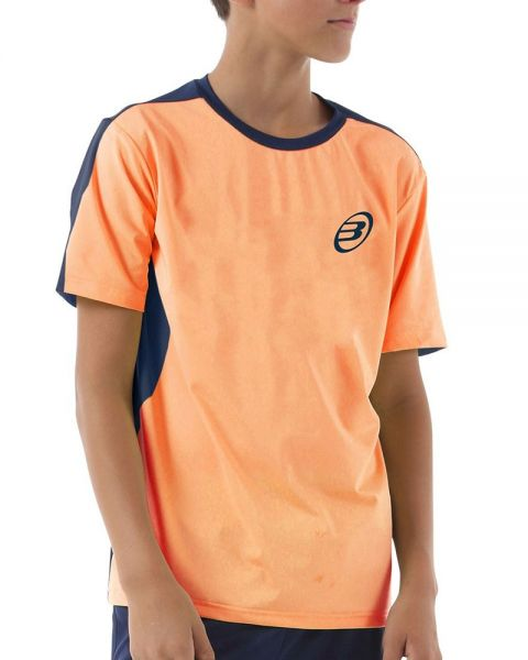 Desilusión borgoña nacionalismo  Camiseta Bullpadel Iunet J Naranja Fluor Niño - Cómoda y suave