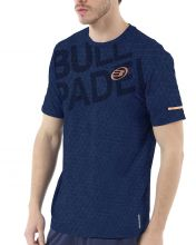 BULLPADEL IRATE NAVY BLUE SHIRT
