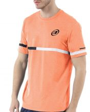 CAMISETA BULLPADEL INTRIA NARANJA FL�OR