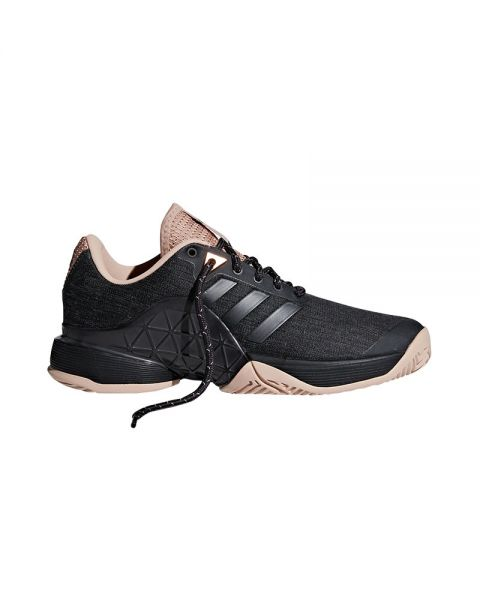 competitive price c4aa8 c4cdd ADIDAS BARRICADE 2018 LTD NEGRO BEIGE MUJER AH2114