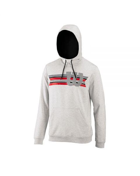 sudadera-wilson-stripe-w-po-hoody-wh-gris, 12.95 EUR @ padelnuestro-es