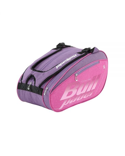f8d8e89f Bullpadel Fun lilac women padel racket bag - Comfortable transportation