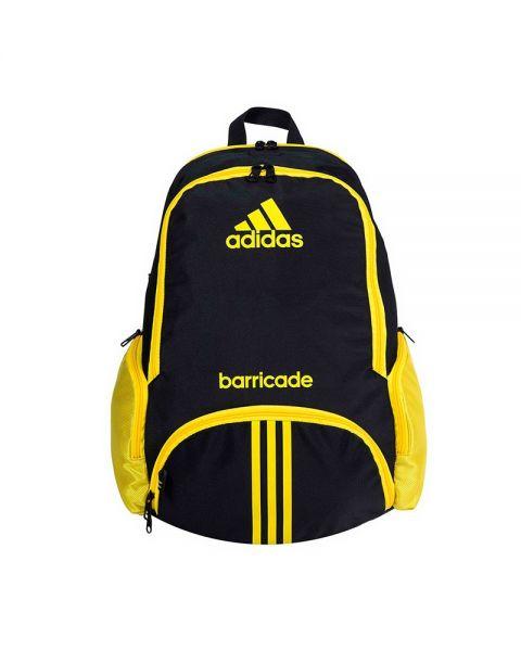 ADIDAS Backpack Barricade 1.9 Black Yellow - Striking design
