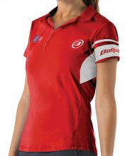 BULLPADEL NIEVA RED WOMEN POLO SHIRT 003