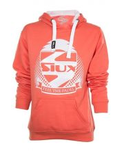SWEAT-SHIRT SIUX BELICE CORAIL FILLE