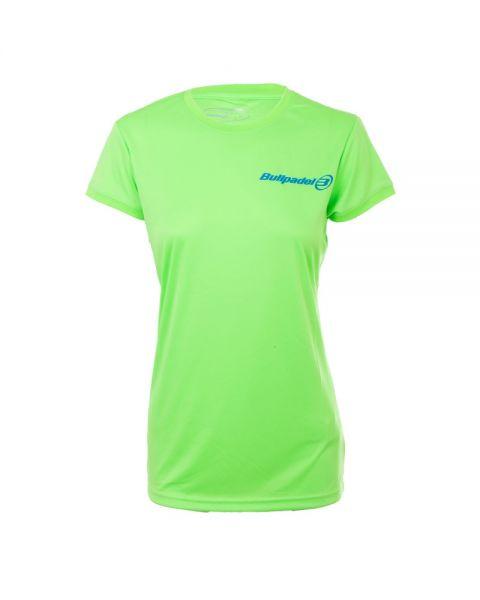 camiseta-tecnica-bullpadel-verde-mujer