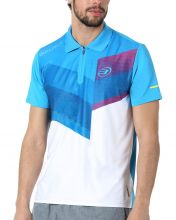 BULLPADEL TEVA BLUE WHITE POLO SHIRT