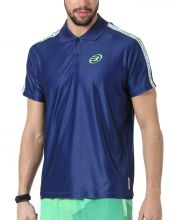 BULLPADEL THEOX NIGHT BLUE POLO SHIRT