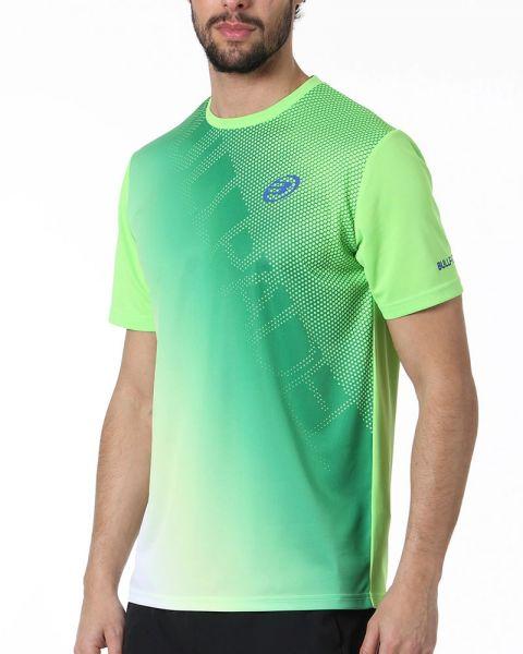 camiseta-bullpadel-colepe-verde-fluor