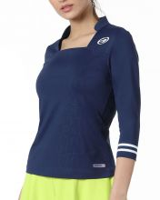 BULLPADEL ECINDA NIGHT BLUE WOMEN SHIRT
