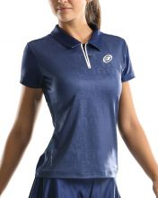 BULLPADEL ESRA NIGHT BLUE WOMEN POLO SHIRT
