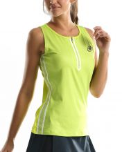 BULLPADEL EAMON FLUOR YELLOW WOMEN SHIRT