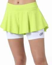 BULLPADEL ESTRAN FLUOR GREEN SKIRT