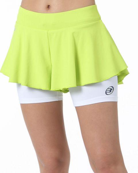 falda-bullpadel-estran-verde-fluor