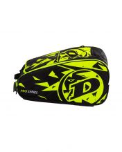DUNLOP PRO TEAM BLACK YELLOW PADEL RACKET BAG