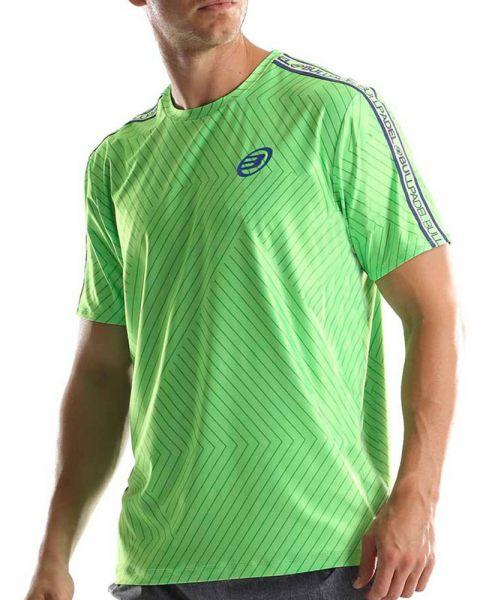 camiseta-bullpadel-tuco-verde-fluor