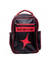STAR VIE RED CHESS BLACK RED BACKPACK