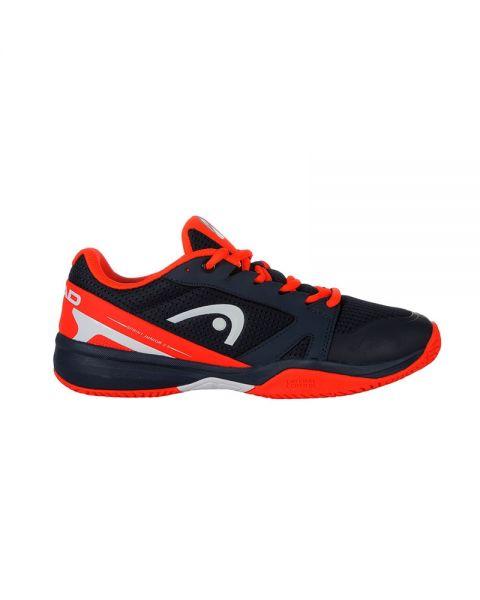a0dea51fbb Head Sprint 2.5 Azul Marino Rojo Junior - Estables y reforzadas