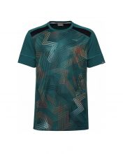 HEAD RACQUET GREEN SHIRT