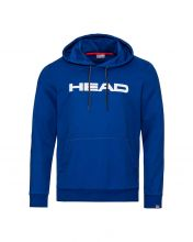HEAD BYRON BLUE WHITE SWEATSHIRT