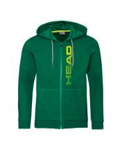 HEAD CLUB FYNN HOODIE FZ GREEN JACKET