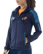 BULLPADEL CLOTIN NAVY BLUE WOMEN SWEATSHIRT