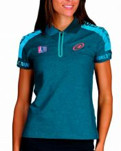 BULLPADEL CORUL AQUAMARINE WOMEN POLO SHIRT