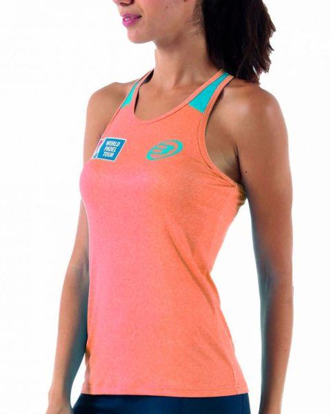 camiseta-bullpadel-cicle-naranja-mujer