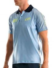 BULLPADEL TUNGU BLUE POLO SHIRT