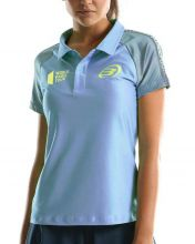 BULLPADEL TEAG BLUE WOMEN POLO SHIRT