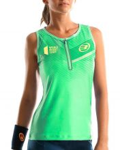 BULLPADEL TIRZA FLUOR GREEN WOMEN POLO SHIRT