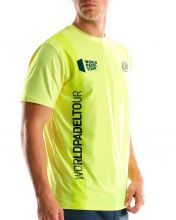 CAMISETA BULLPADEL TUGO AMARILLO