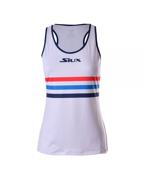 2d442a8adc Siux Luxury white blue women tank top - Pretty design