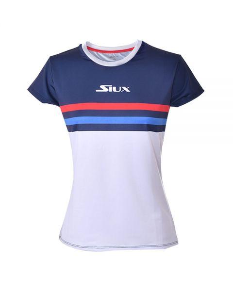camiseta-siux-luxury-azul-marino-blanco-mujer, 36.00 EUR @ padelnuestro-es