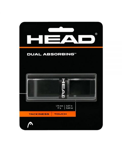 HEAD DUAL ABSORBING BLACK GRIP
