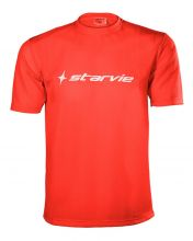 T-SHIRT STAR VIE RED WHITE