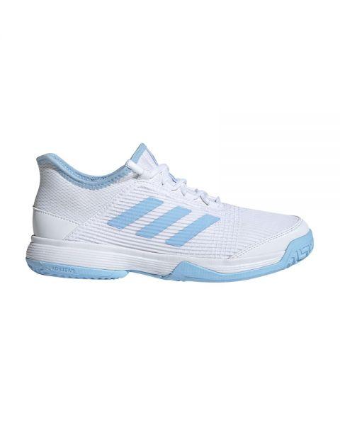 ADIDAS ADIZERO CLUB WHITE BLUE GIRL G26837