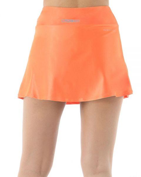 falda-bullpadel-elosua-coral-fluor